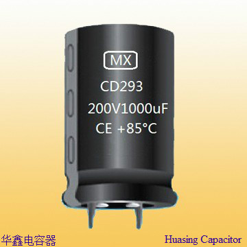 Snap In Aluminum Electrolytic Capacitor