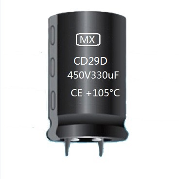 CD29D Snap In Aluminum Electrolytic Capacitor
