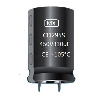 CD295S Snap In Aluminum Electrolytic Capacitor